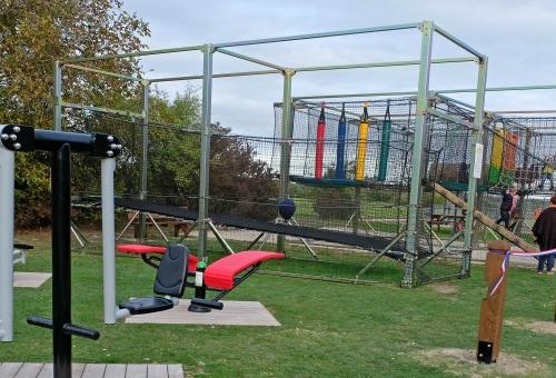 Un nouveau terrain multisports à Haussimont
