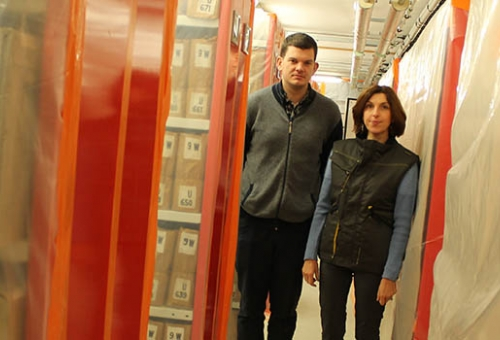 D'importants travaux de modernisation aux archives départementales
