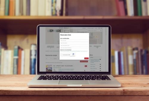 Un nouveau site internet pour la Bibliothèque Départementale