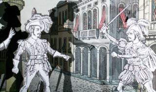 Théâtre de papier et compagnie au collège de Vertus...