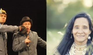 Itinéraires : Théâtre burlesque et Folk amérindien sur fond de souvenirs de guerre