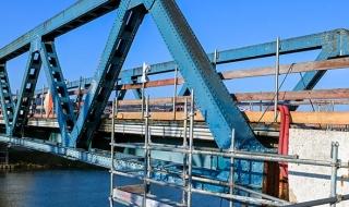 Le pont de Damery surélevé