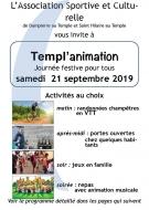Templ\'animation