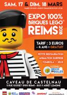 Exposition : 100% Briques Lego