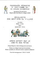 Randonnée Pédestre à Igny-Comblizy