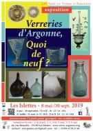 Exposition Verreries d\'Argonne : Démonstrations de travail du verre