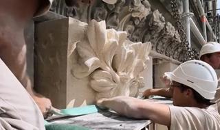 Restauration de la Grande Rose de la Cathédrale de Reims - Epidose 2 : Statuaire