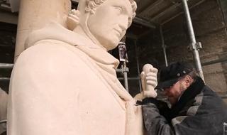 Restauration de la Grande Rose de la Cathédrale de Reims - Episode 3 : La copie
