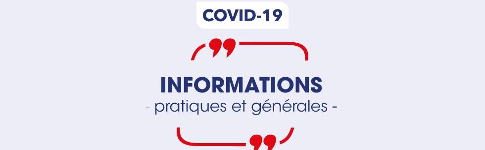 Coronavirus - informations et gestes barrières