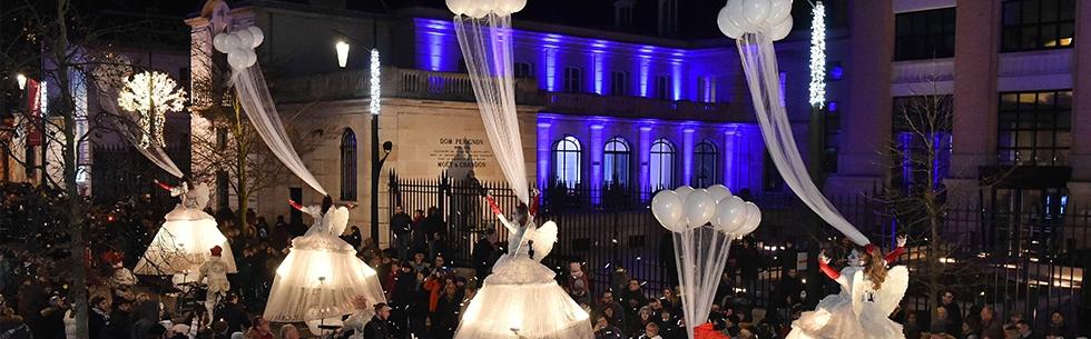 L\'avenue de Champagne s\'illumine de magie ce week-end