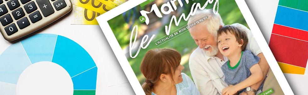 Le dernier numéro du magazine départemental arrive chez vous !