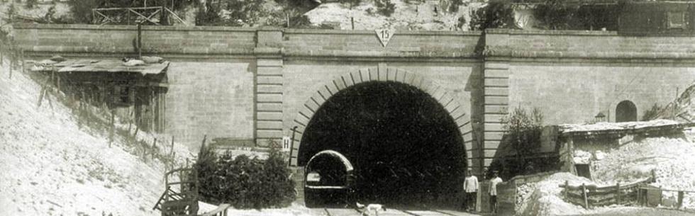 1886-2016 : 130 ans d'histoire au tunnel du Pinson